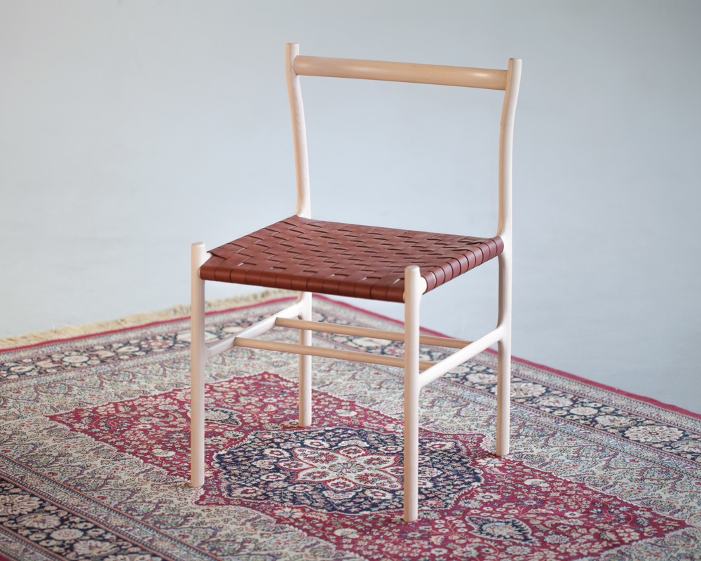 Chaise Notch par Collin Velkoff