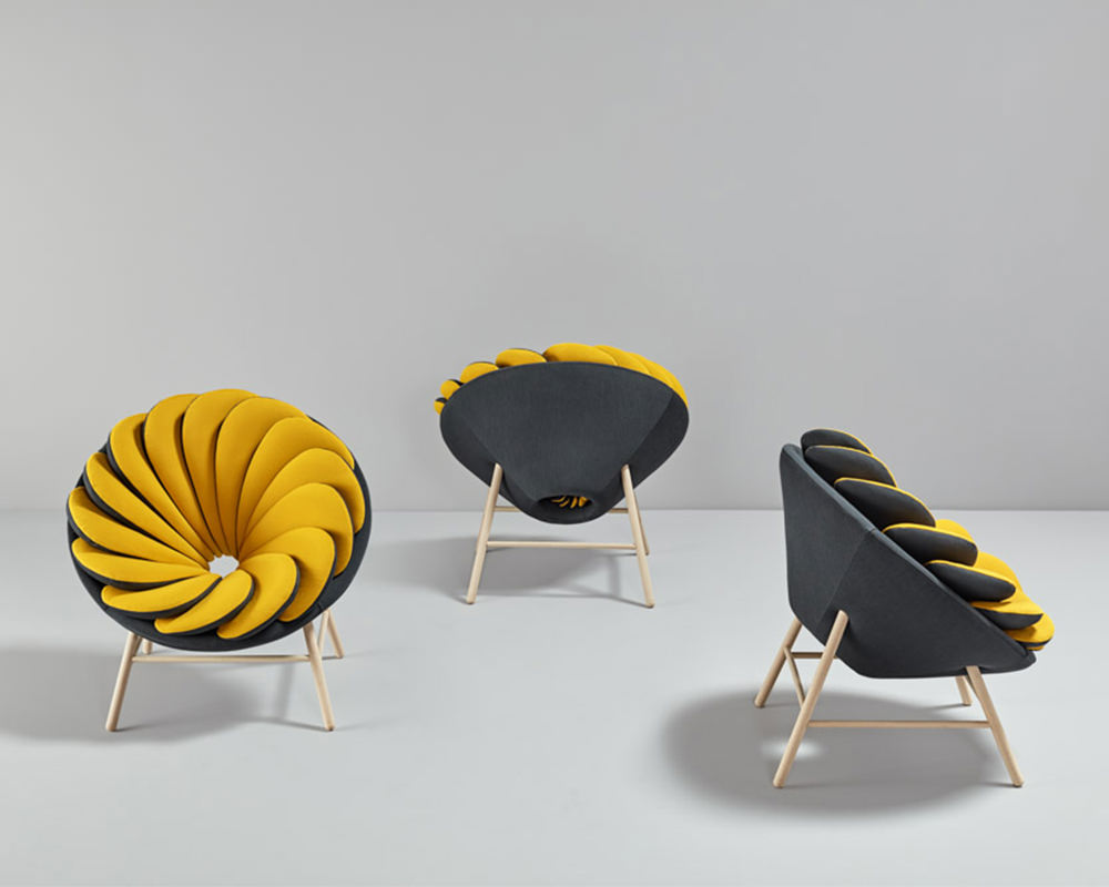 Le fauteuil Quetzal par Marc Venot