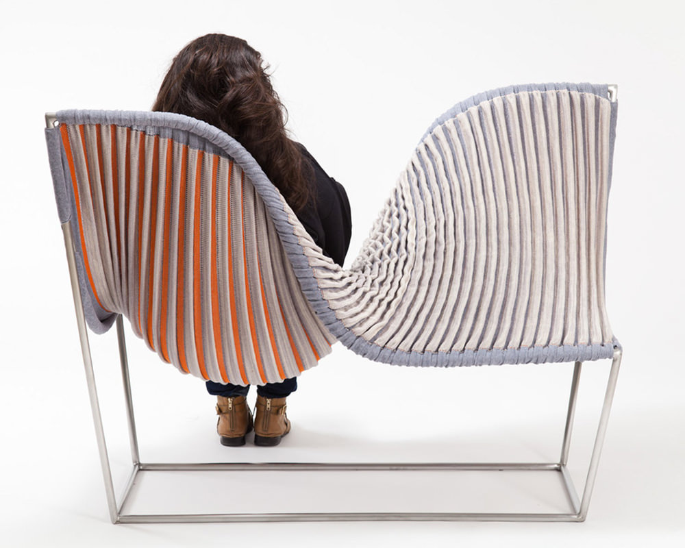 Fauteuil Stretch Lounge de Michelle Dunbar