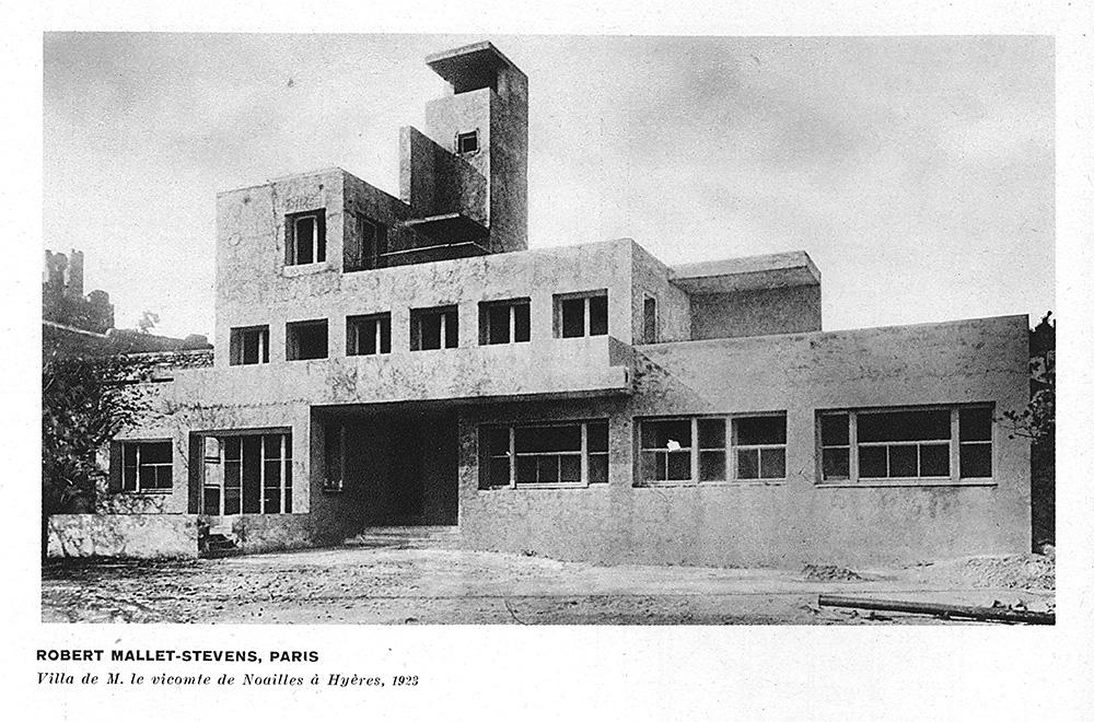 02 - Villa Noailles Vue du batiment a l'achevement des travaux, avril 1925 Publiee dans la revue Das Werk, Zurich, 1927 Photographe inconnu Collection villa Noailles