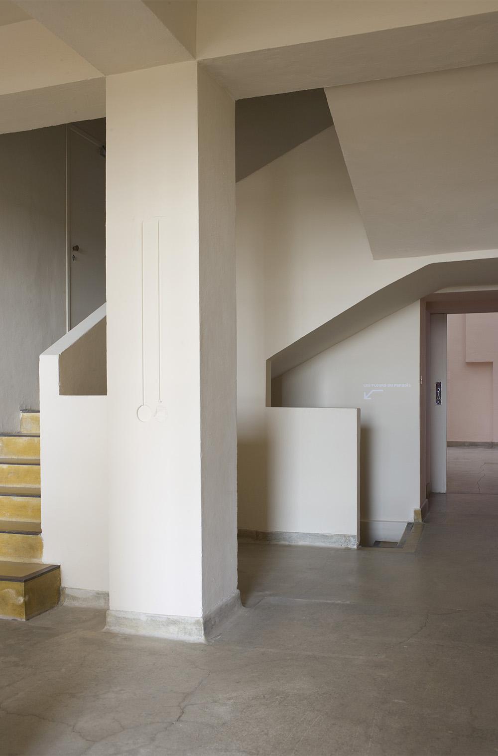 20 - hall de la partie initiale, villa Noailles © Olivier Amsellem, 2008