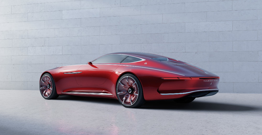 Mercedes-Benz Maybach Vision 6 Concept