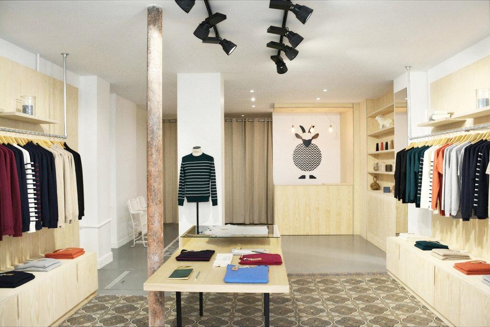 Retail Paris : Hircus et son cachemire