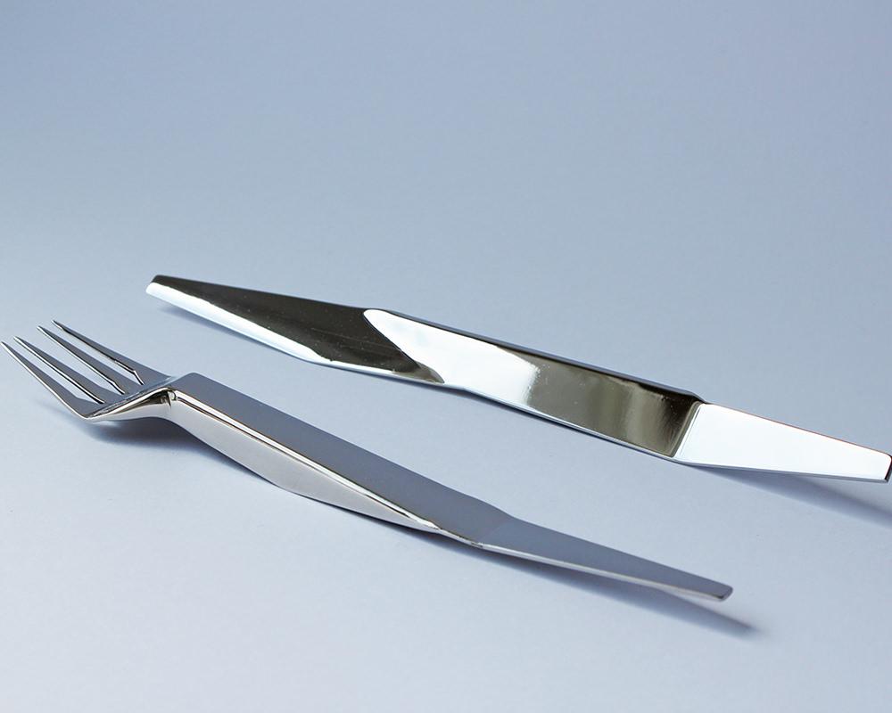Paper Cutlery, les couverts d'Agneszka Krzyzanowska