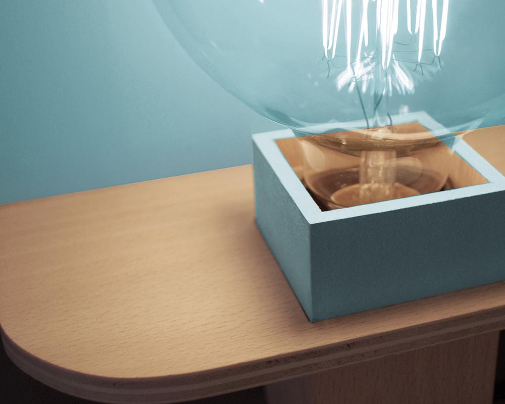 Bigout, la lampe de chevet par Les Estampillés Design