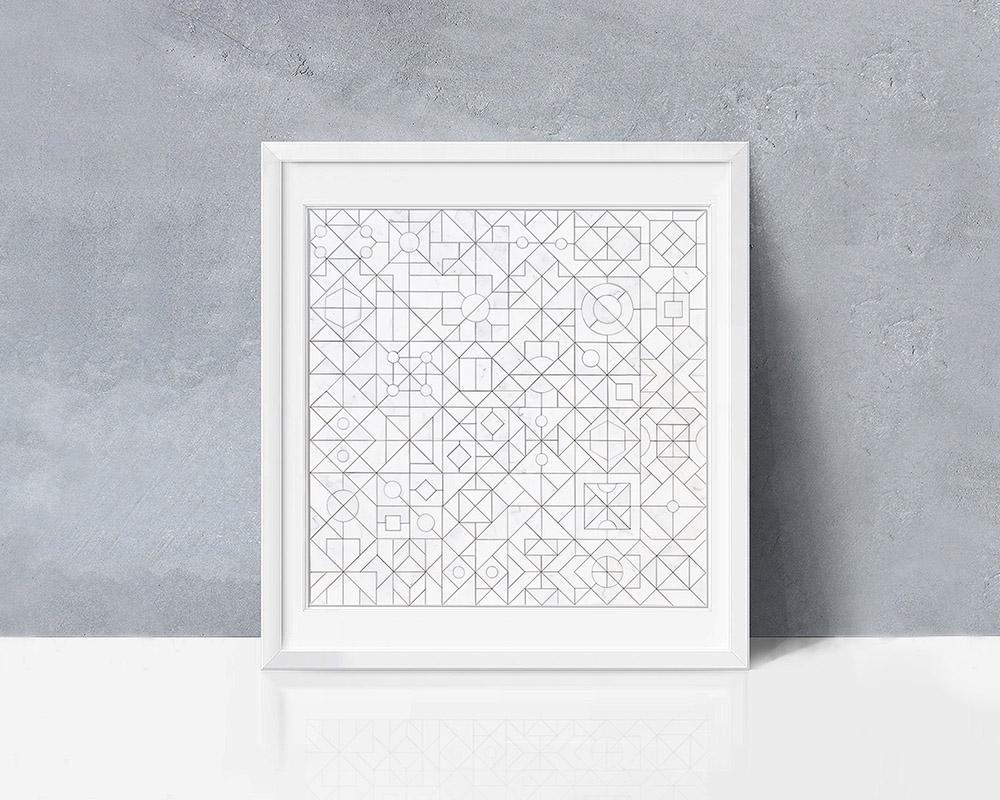 Geometrical Puzzle par le studio Llun