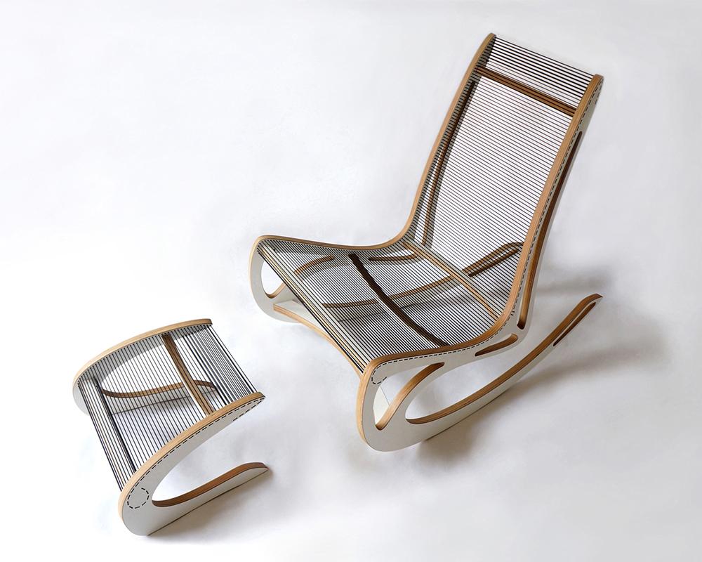 Qvist rocking chair par peter qvist blog esprit design - Fauteuil rocking chair design ...