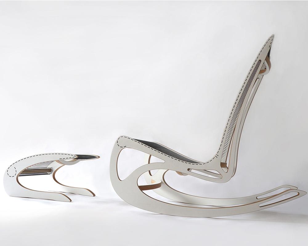 Qvist Rocking Chair par Peter Qvist