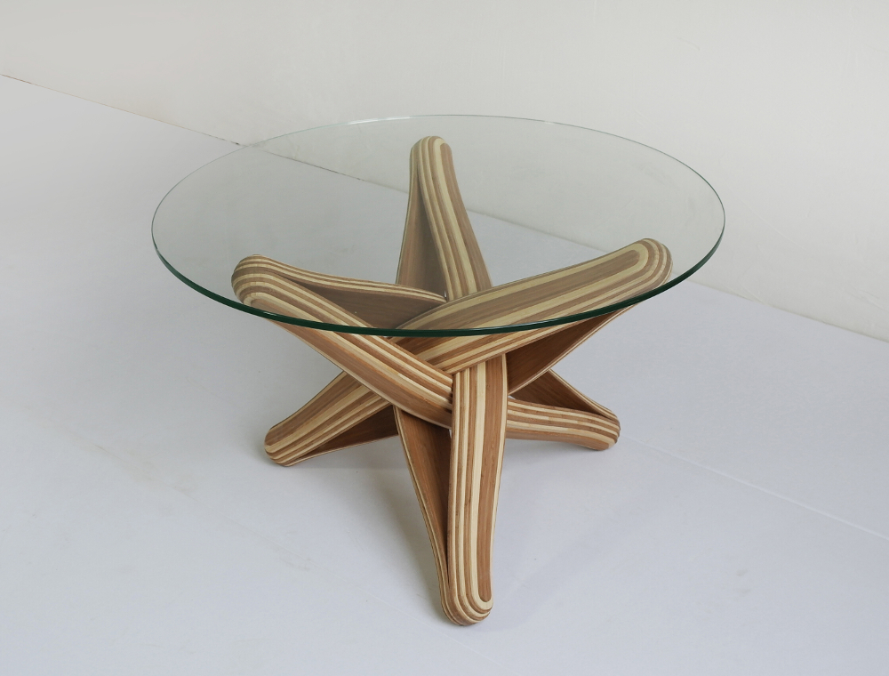 Table entrelacée Lock par JP Meulendijks