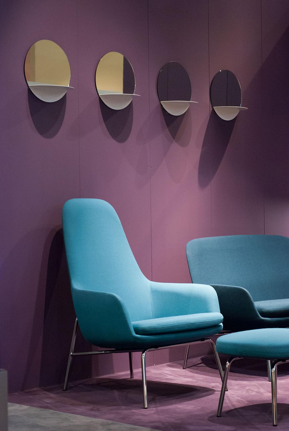 Les miroirs sont également un élément décoratif important dans l'univers de Normann Copenhagen