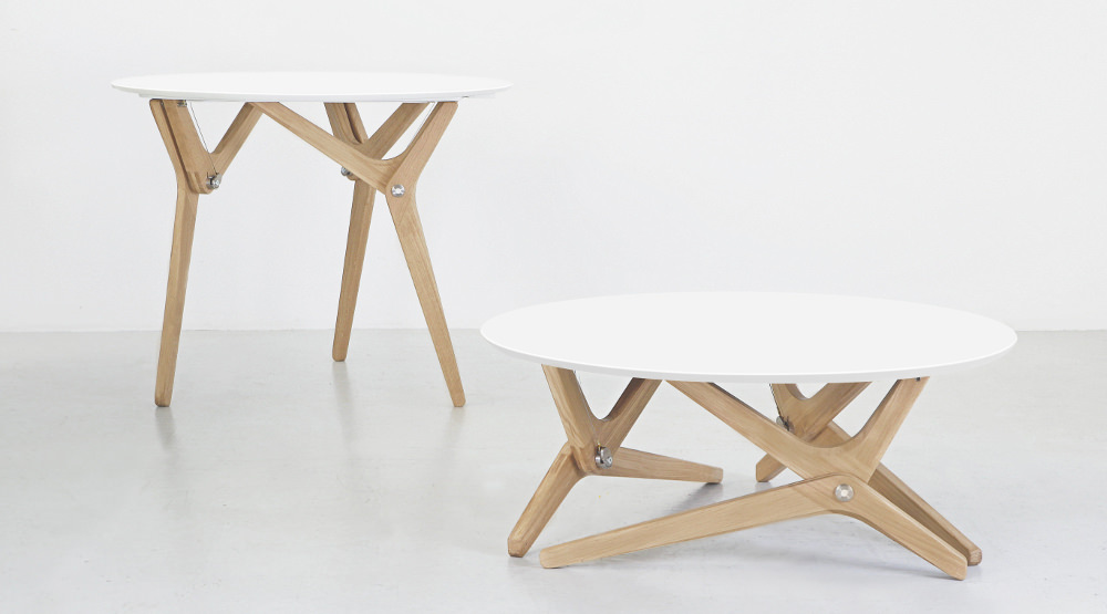 Crowdfunding : Table deux positions par Boulon Blanc