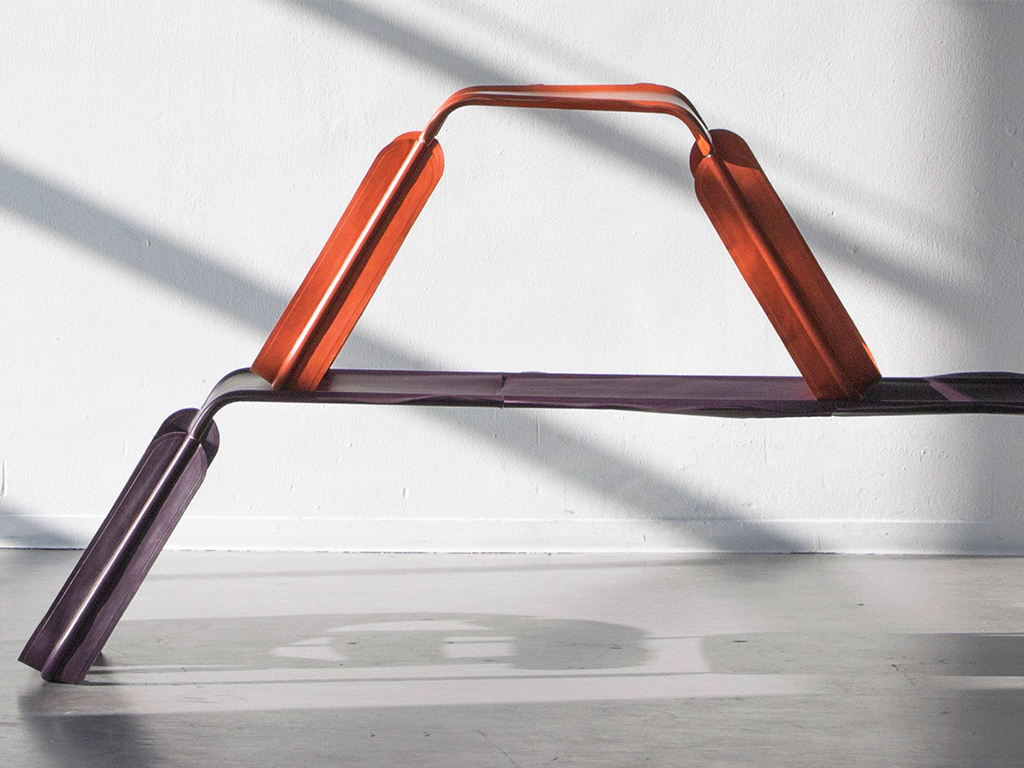 Glissade, la collection de chaises de Christian Heykoop