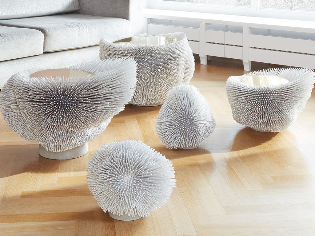 Sea Anemone, la table d'appoint de Pia Maria Rader