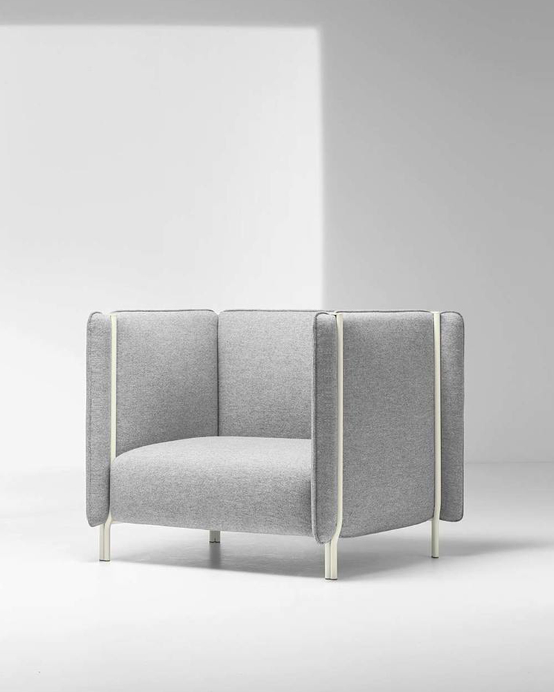 Pinch, les fauteuils par le studio Skrivo