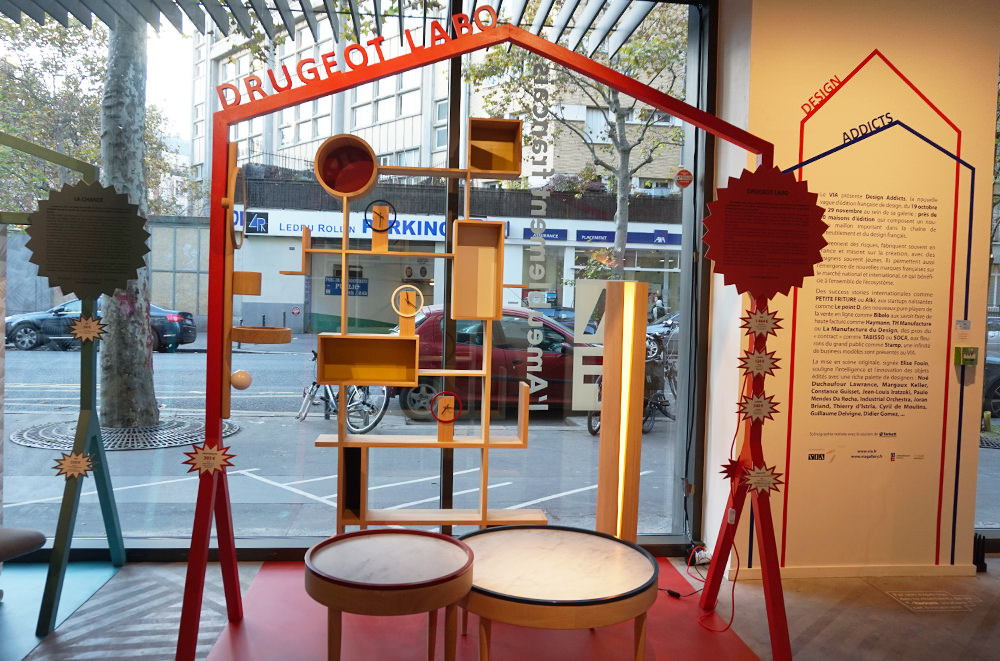 DRUGEOT LABO - Exposition VIA Design Addicts