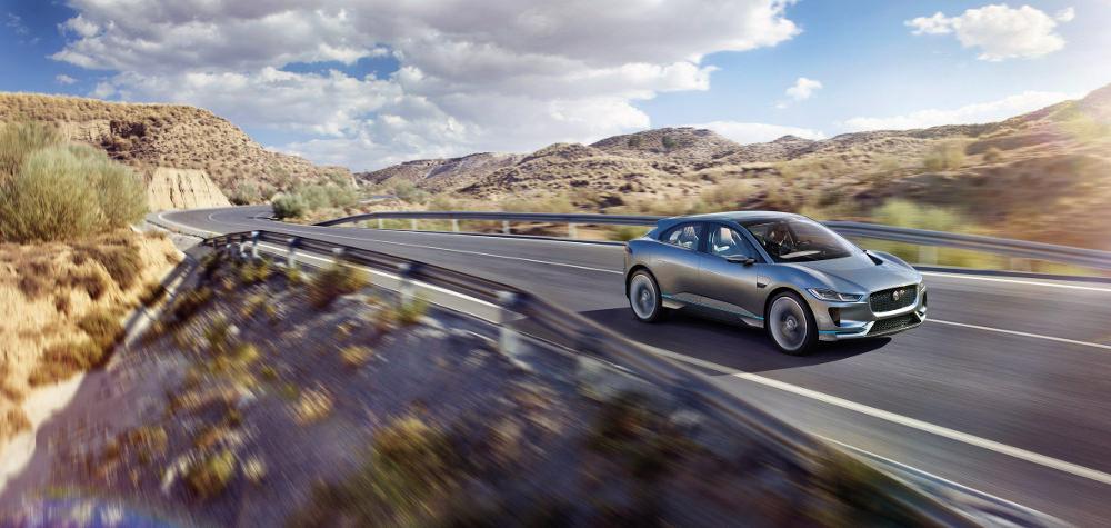 LA Auto Show : Jaguar I-Pace Concept