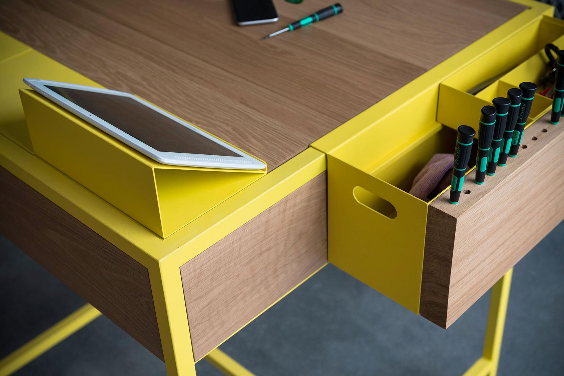 Cofix, l'atelier d'auto-réparation du studio Hekla