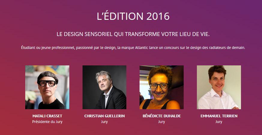 Concours Design Atlantic 2016