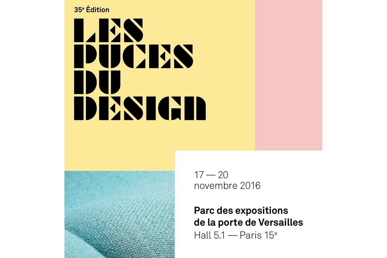 Agenda les puces du design 2016 paris blog esprit design - Puces du design paris ...