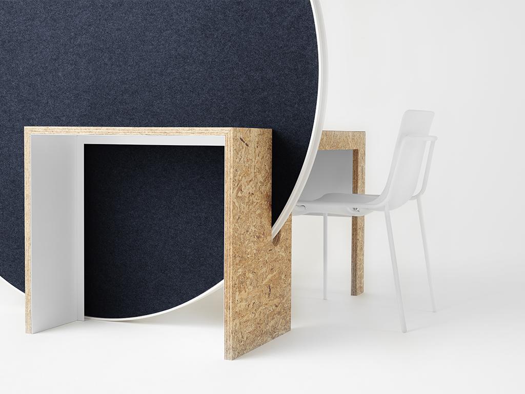 Rolling Workspace par le studio Nendo