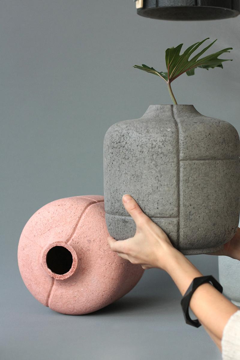 Curl Up+ Les vases de Rita Koralevics