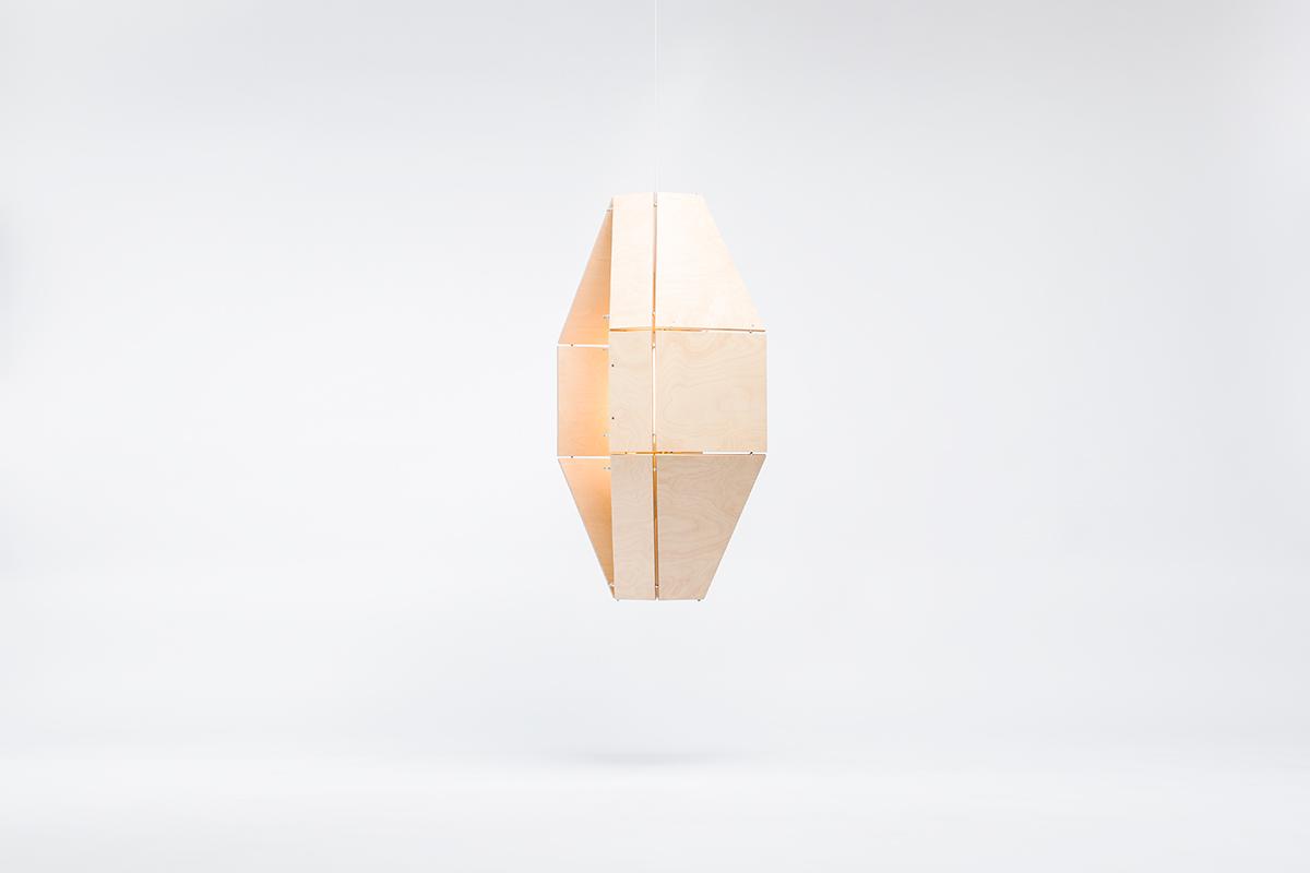 Eagle, la gamme de luminaires de Woodlabo