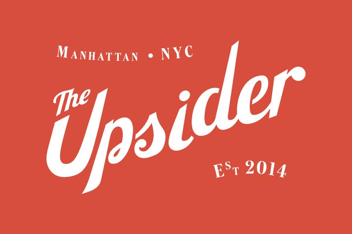 L'identité visuelle de The Upsider par Iwant Design