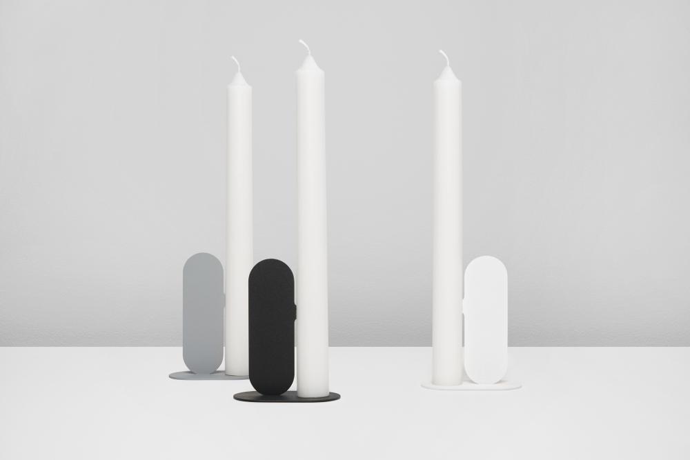 NOSE le bougeoir minimaliste par Quentin de Coster