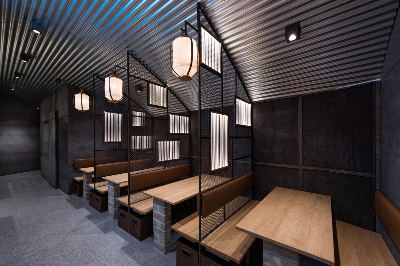 Hikari Yakitori Bar par le studio Masquespacio