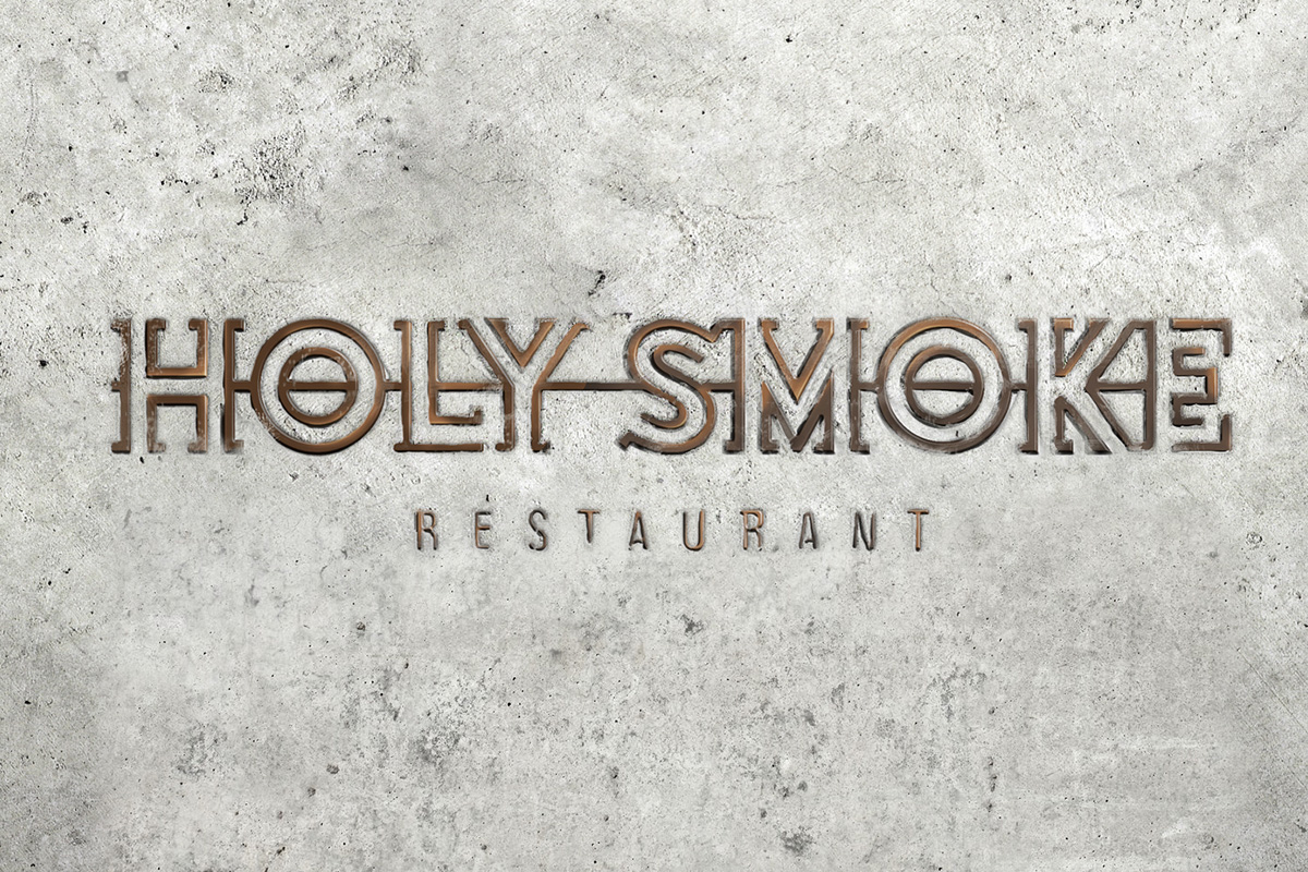 Le restaurant Holy Smoke par le Bureau Bumblebee