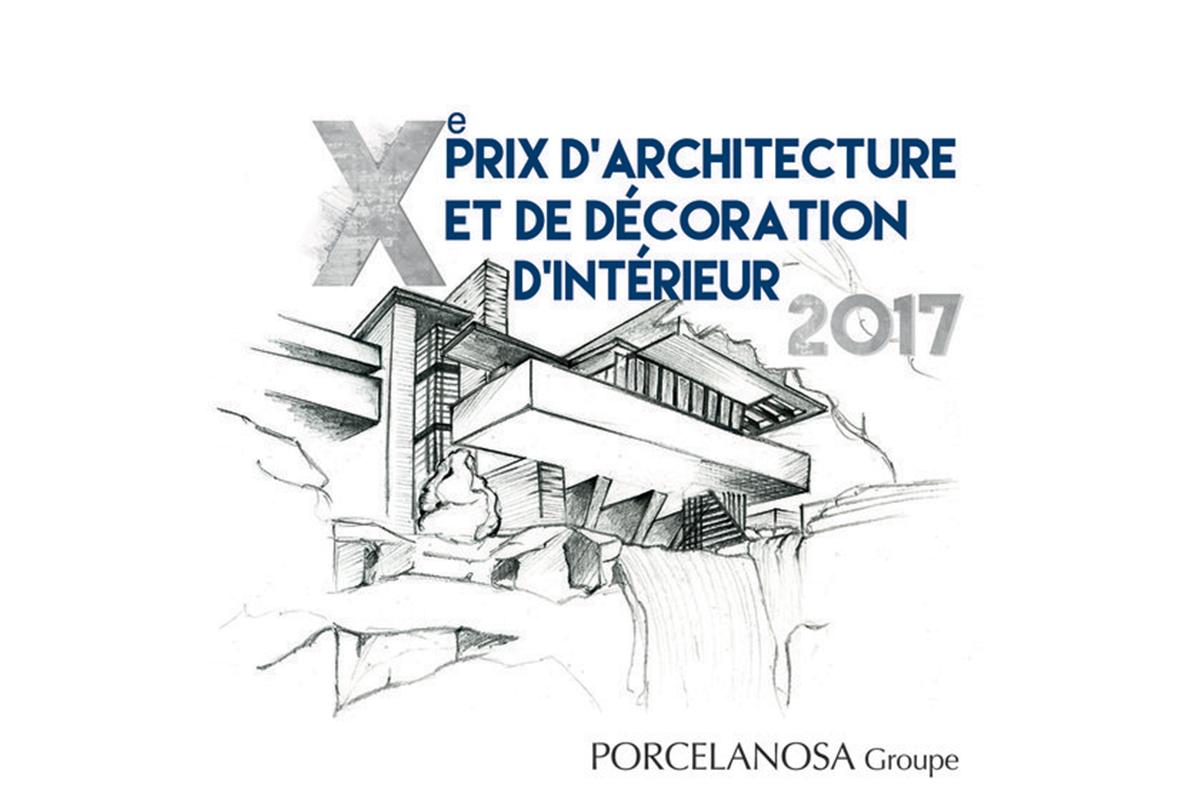 Appel à projet : 10ème prix d'Architecture et de décoration d'intérieur du groupe Porcelanosa