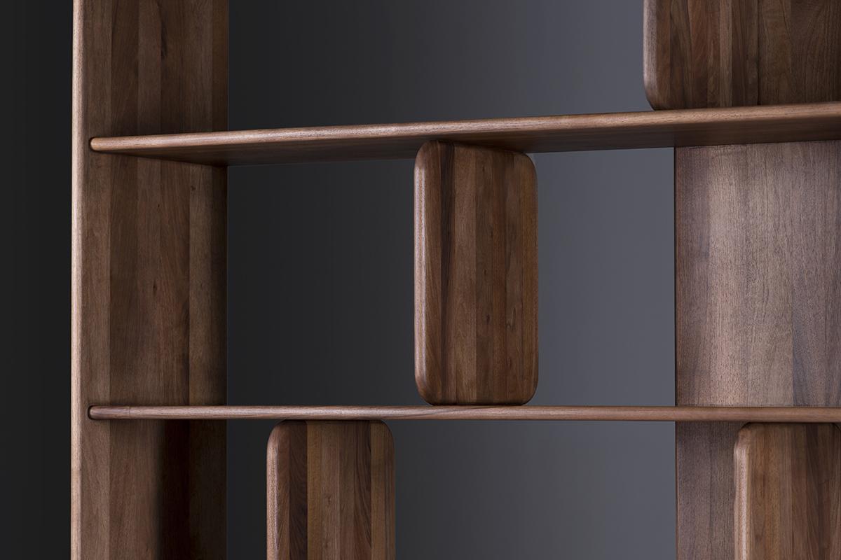 Soft Shelf la gamme d'étagères de Regular Company