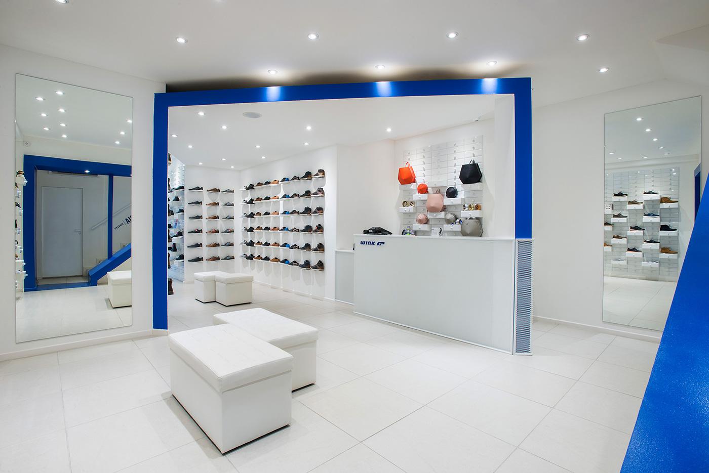 Retail : Wink la boutique footwear par Kissmiklos