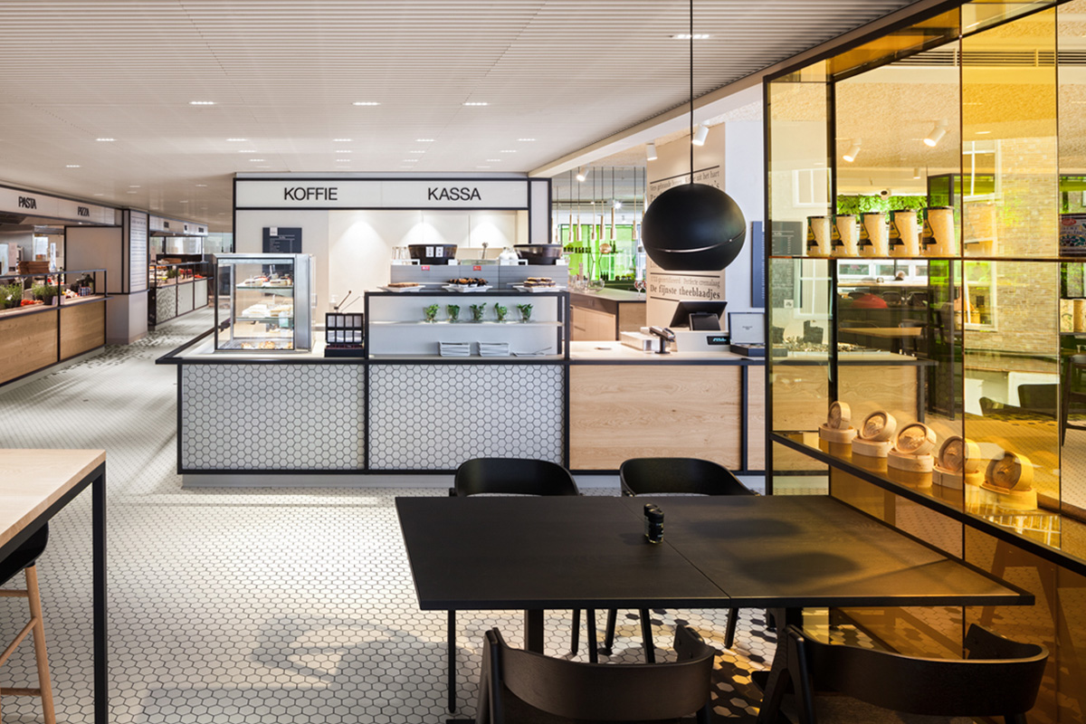 The Kitchen de De Bijenkorf Utrecht par i29 Interior Architects