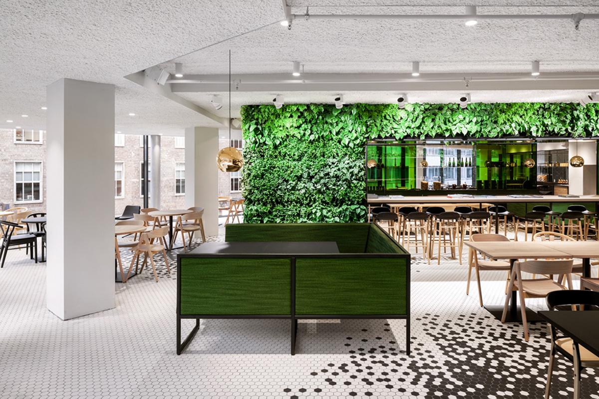 The Kitchen de De Bijenkorf Utrecht par i29 Interior Architects