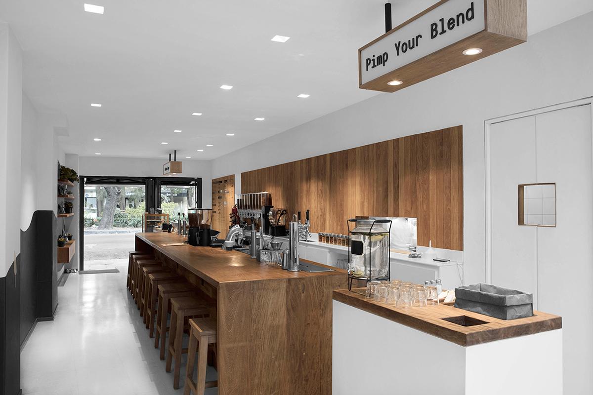 Branding : Blend Station par le studio Futura