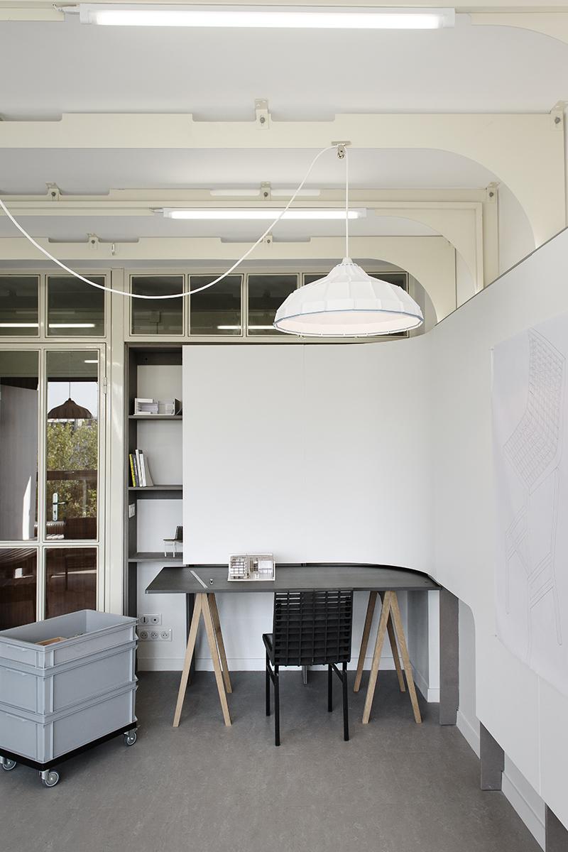 Ateliers-logements de la Cité Internationale des Arts par Simon Morville et l'Atelier JS.L