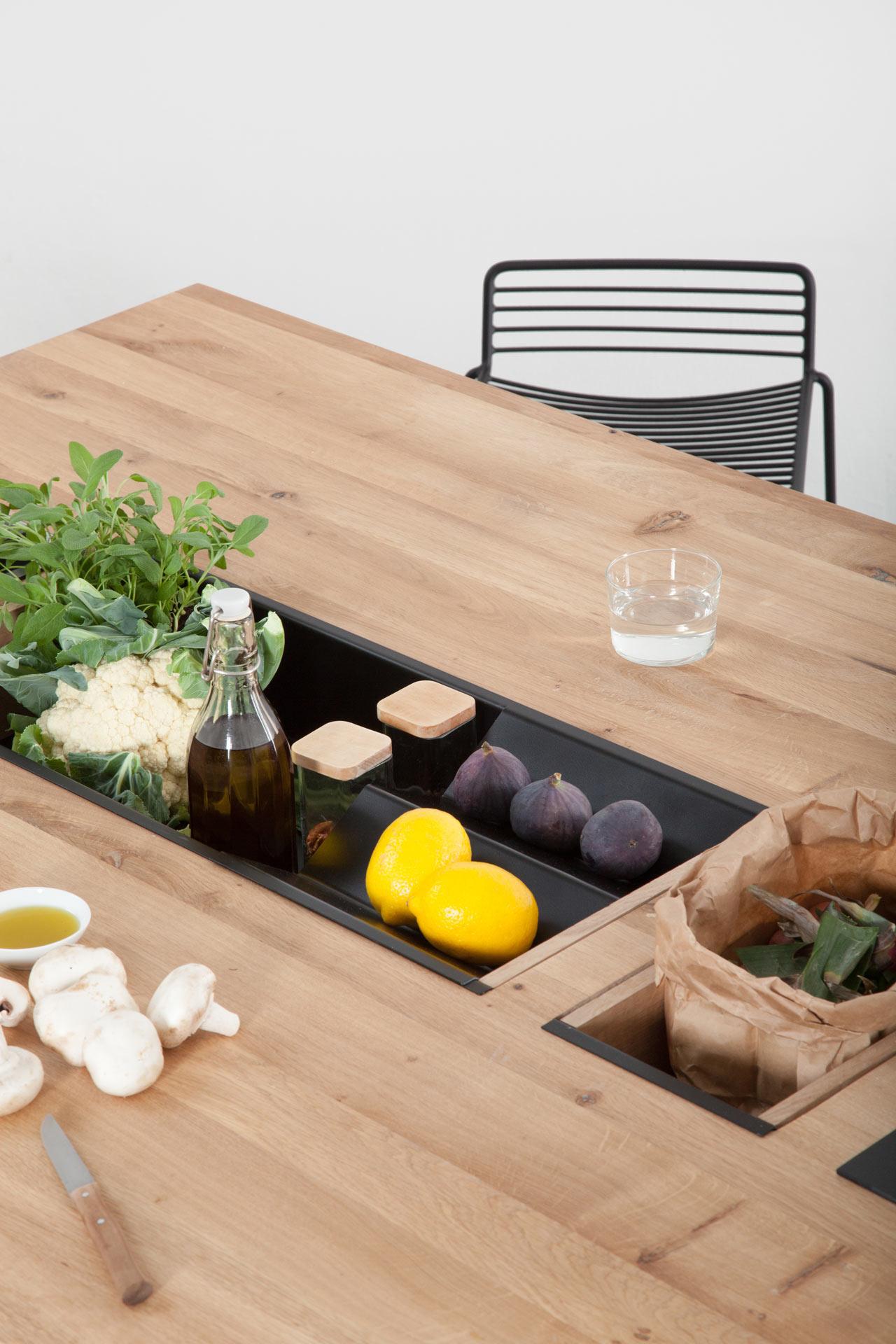 Oikos, l'îlot de cuisine modulaire de May Kukula