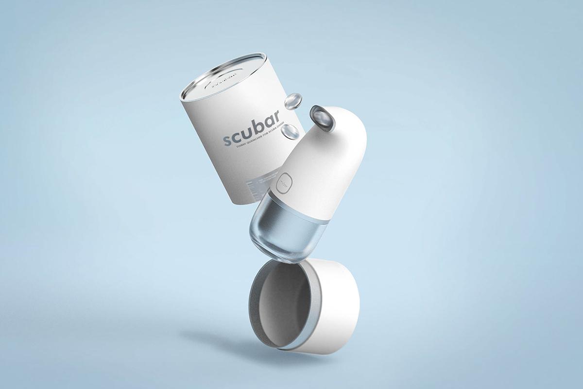Projet étudiant : Scubar, le gadget de Jisu Yun