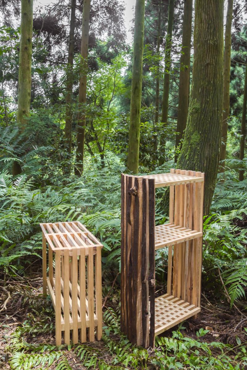 Second Nature, la gamme de mobilier de Chialing Chang