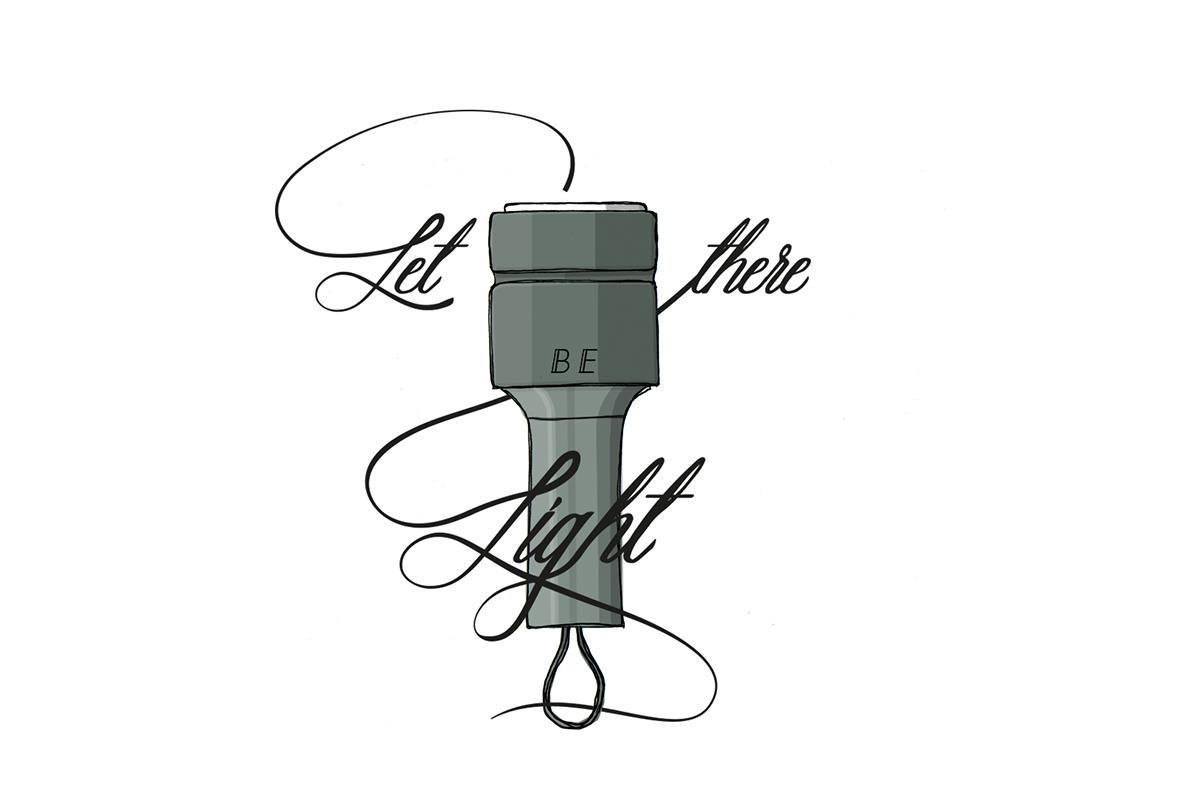 Projet étudiant: Torqua, la lampe de poche de Pierre Villez