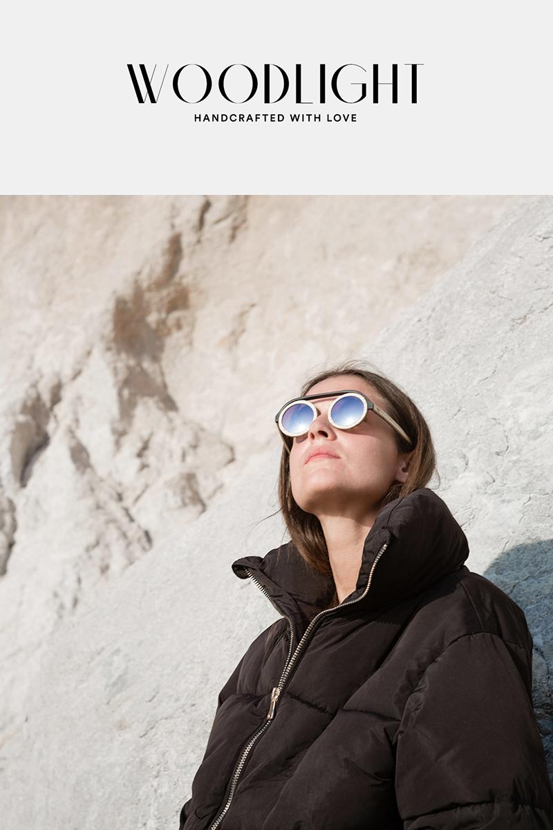 Peak, les lunettes de soleil par le Studio Joran Briand