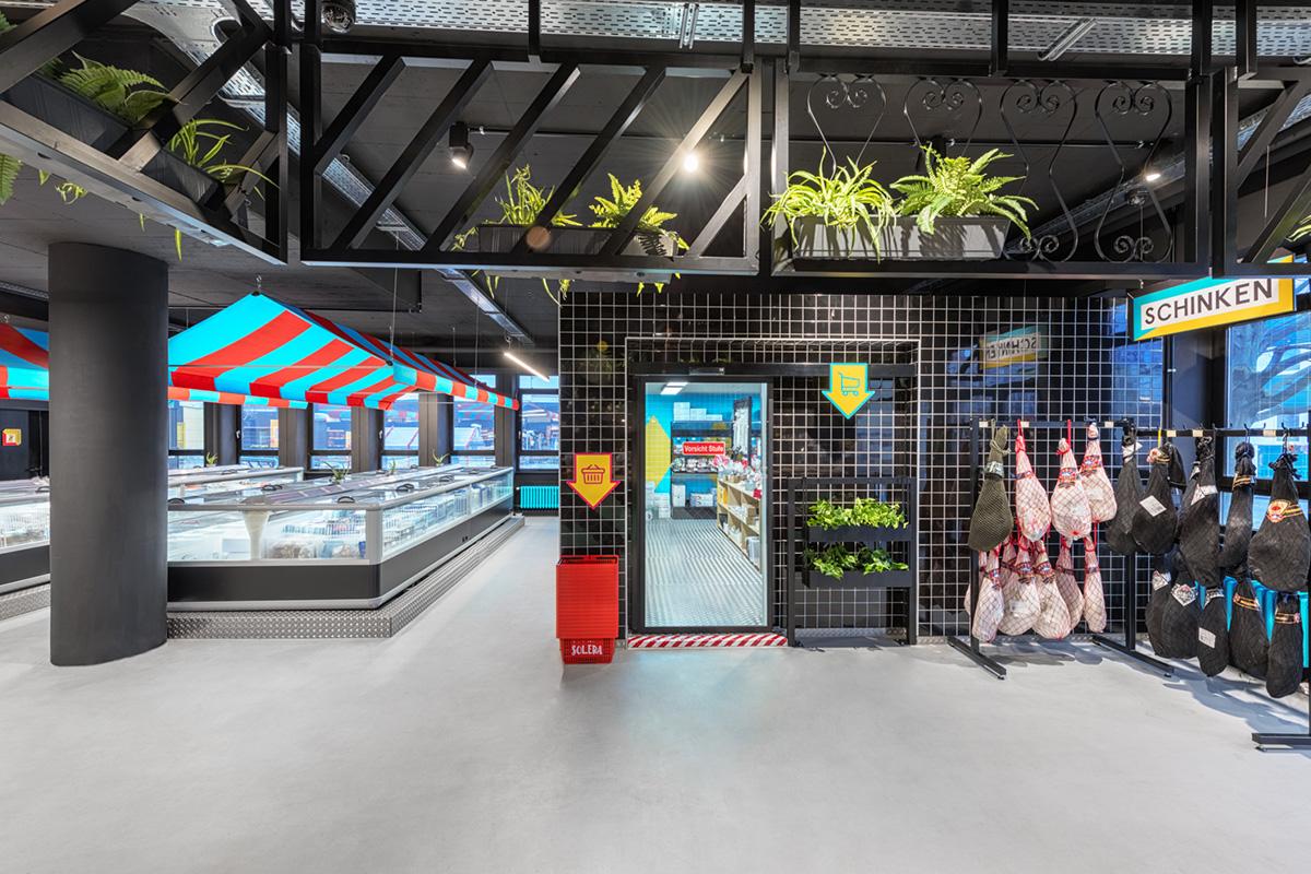 Les Supermarchés Solera par le studio Masquespacio
