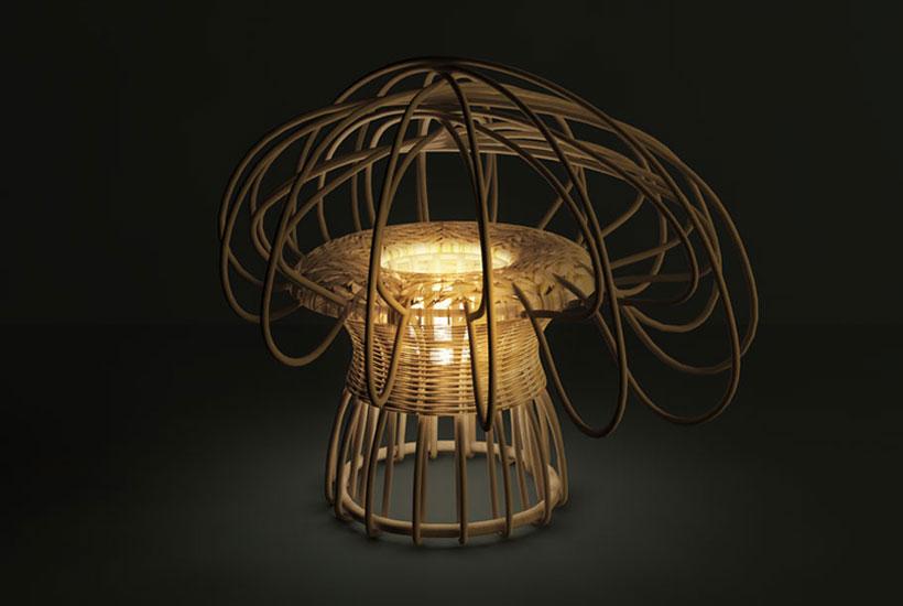 Elliptic Lamp, édition Bonacina 1889 ©Design Percept