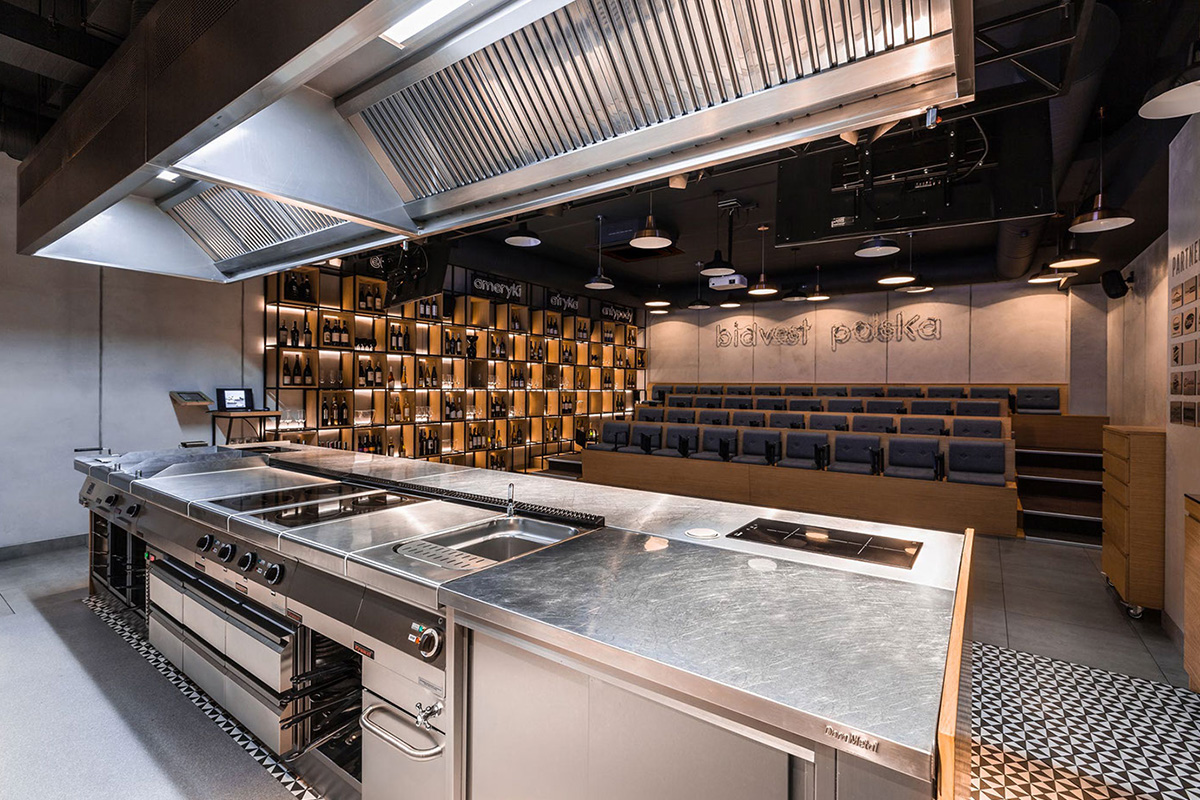 Furatex Culinary Academy par le studio Mode:Lina