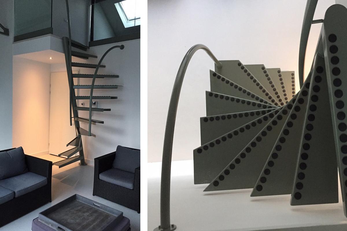 1m2, l'escalier solution de EeStairs