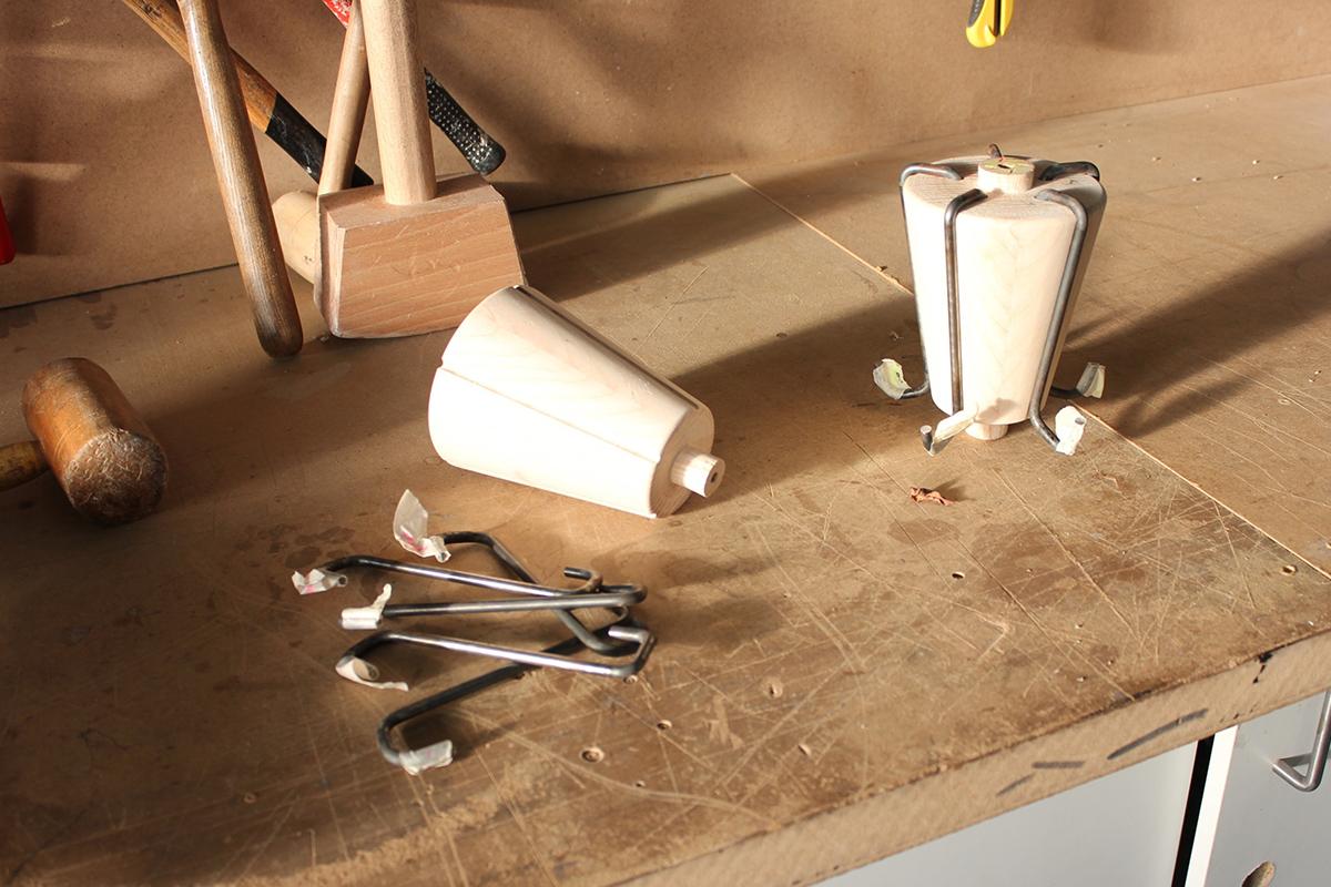 Capel, la suspension prototype de VoisinGuillemin x Camille Durand