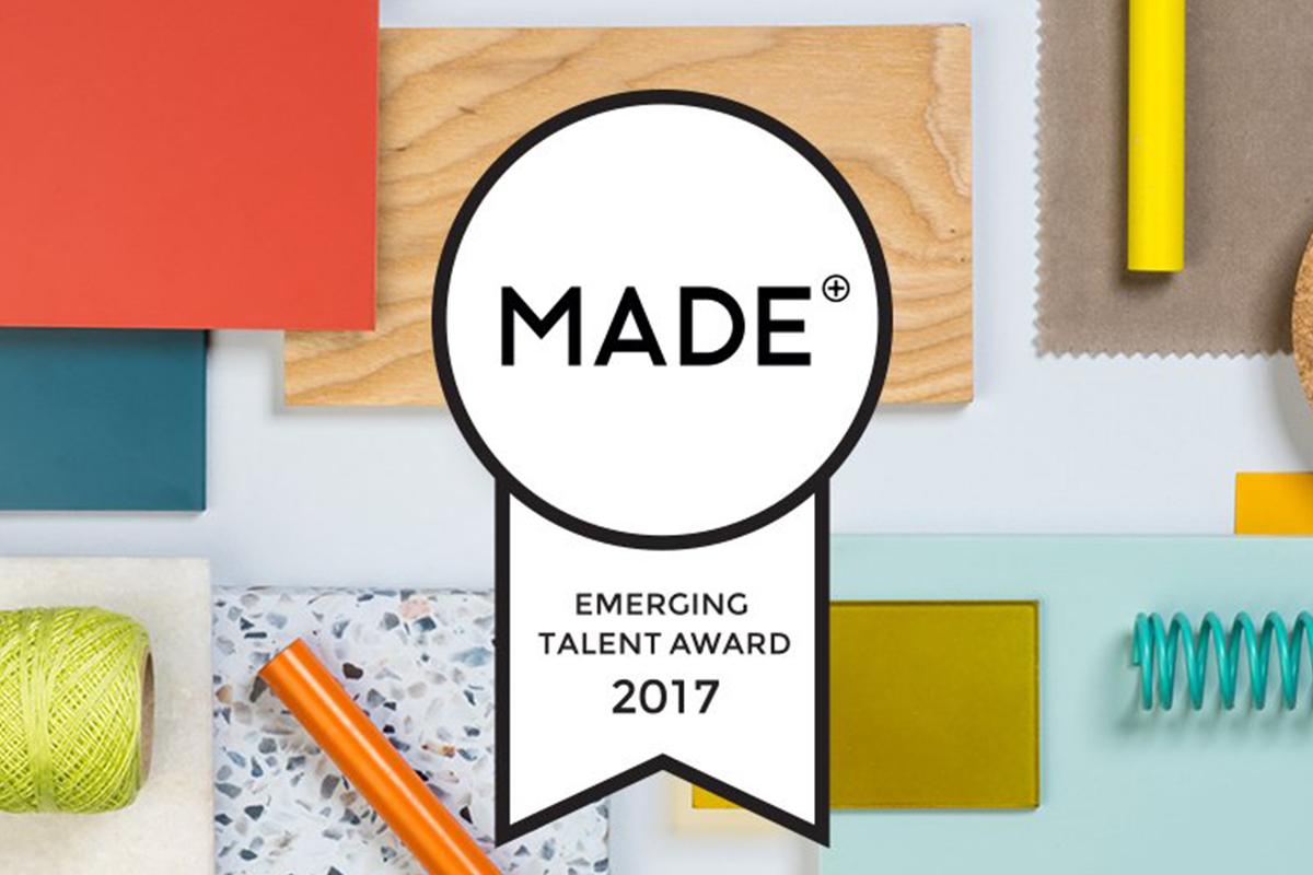 appel projets made com emerging talent award 2017 blog esprit design. Black Bedroom Furniture Sets. Home Design Ideas