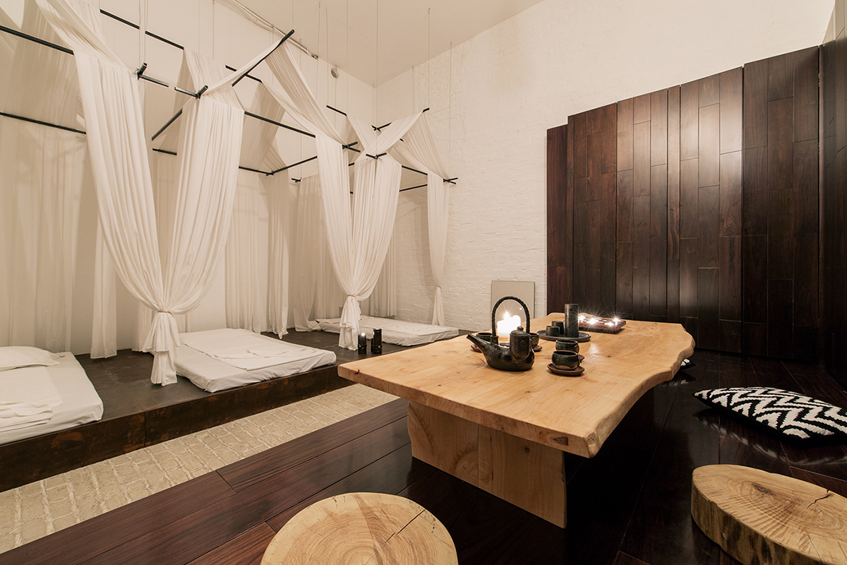 oriental oko spa une ambiance zen par le studio makhno architects blog esprit design. Black Bedroom Furniture Sets. Home Design Ideas