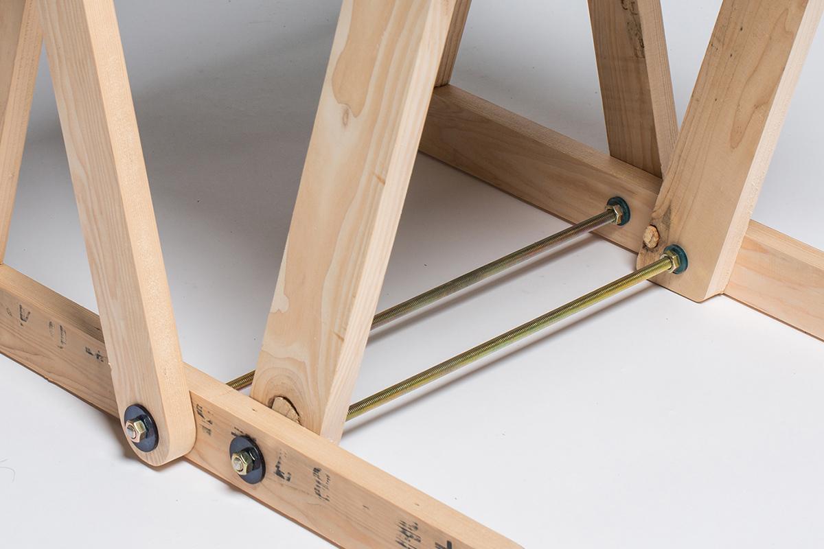 Patterned Pallet Chair par le studio Craft Combine